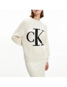 CALVIN KLEIN - Pullover con...