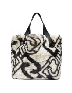 LIU JO - Faux fur bag with...
