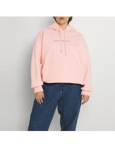CALVIN KLEIN - Hoodie with...