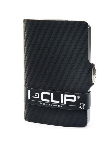 I-Clip Portafoglio SLIM carbon