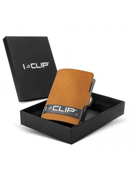 I-Clip - Portafoglio SLIM SOFT TOUCH