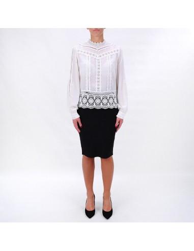 official buy online amazing price Morgan de Toi - Camicia con inserti in pizzo