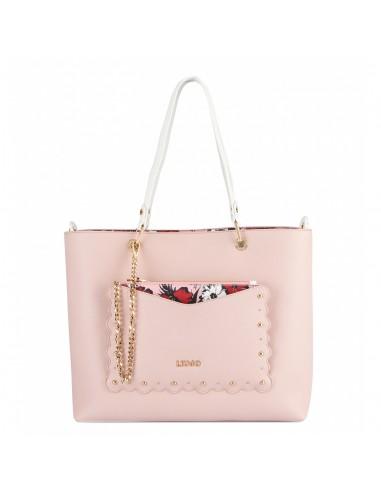 9a2204f0cee01 Nuova collezione borse Liu Jo P E N19225 E006 rosa perla disponibili ...
