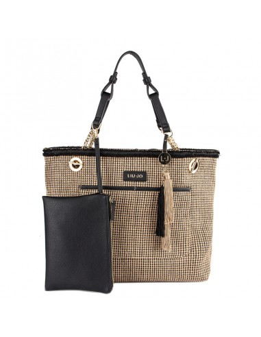 Discover new collection bag Liu jo S S N19205 E0010 brown and ... 770354d5eb3