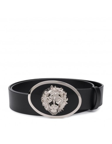 Versus Versace - Cintura in pelle con LEONE