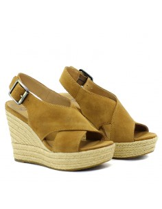 8df7438025a UGG - Sandal with wedge W HARLOW