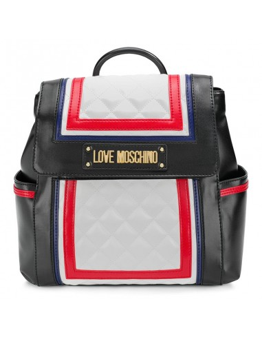 5eb7799b89 New collection bag, pochette and backpack Love Moschino 4016 bianco multi  available online