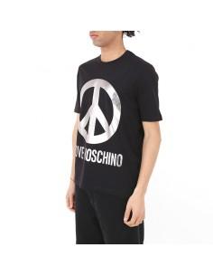 Shirt Love Nuova Collezione Moschino T Uomo Abbigliamento M4732 2y RLcj34Aq5S