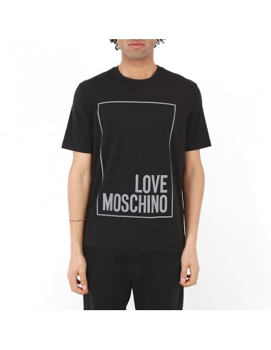 1b25560c New collection clothing Love Moschino t-shirt man M4732 3L black S/S online