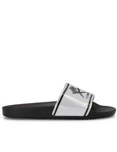 "Plein Sport by Philipp Plein - Slipper ""BLACK SOUL"""