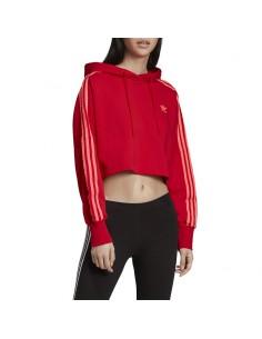 Adidas - Felpa CROPPED HOOD