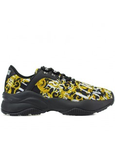 Versace Jeans Couture - Low sneakers ALL OVER PRINTING BAROQUE