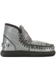 Mou - Ankle boots Eskimo sneaker big metallic logo