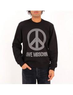 Love Moschino - Sweatshirt studded logo