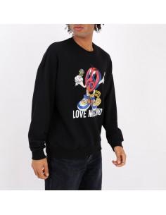 Love Moschino - Sweatshirt front print