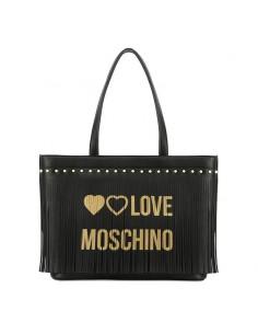 Love Moschino - Shopper con frange