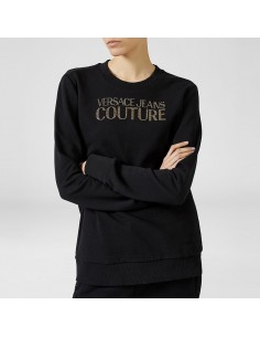 Versace Jeans Couture - Sweatshirt with studs logo