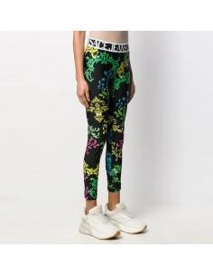 Versace Jeans Couture - Leggings Barocco multicolore