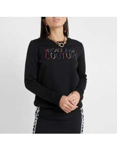 Versace Jeans Couture - Felpa multicolor logo