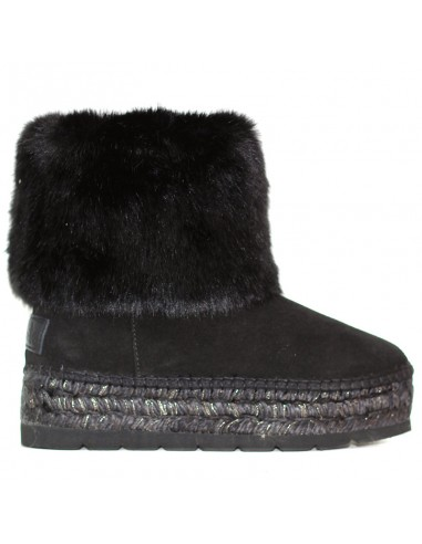 Vidorreta - Ancle boot with beaver fur