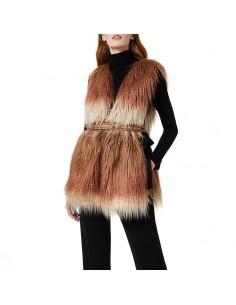 Liu Jo - Gilet with eco fur