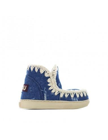 Mou - Summer Eskimo Sneaker Denim Kids