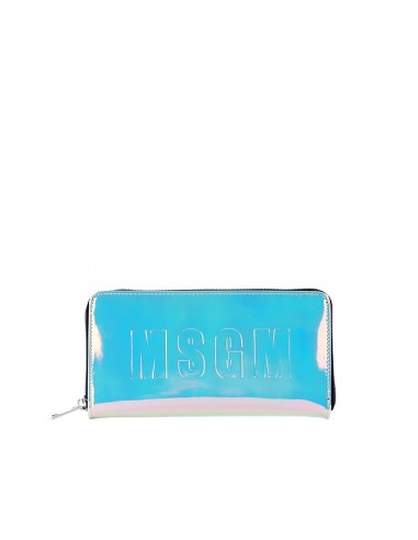 MSGM - Opalescent wallet with logo