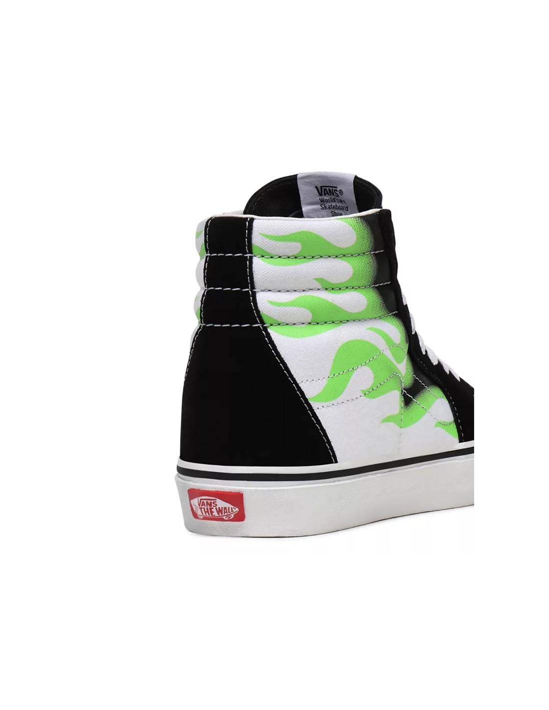 Nuove scarpe Vans Flame SK8 HI disponibile sul nostro shop
