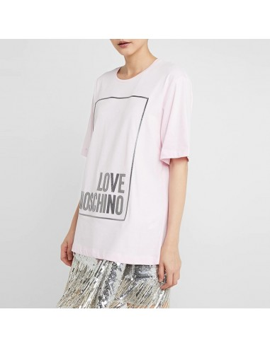 Love Moschino - T-shirt con logo in...