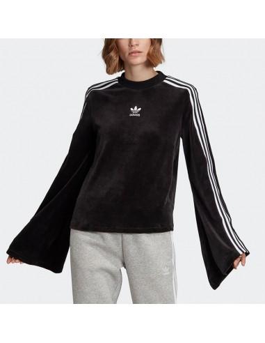 Adidas - Sweatshirt FLARED SLEEVE VELOUR