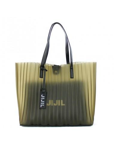 JIJIL - Bag with plissè fantasy TAYLOR
