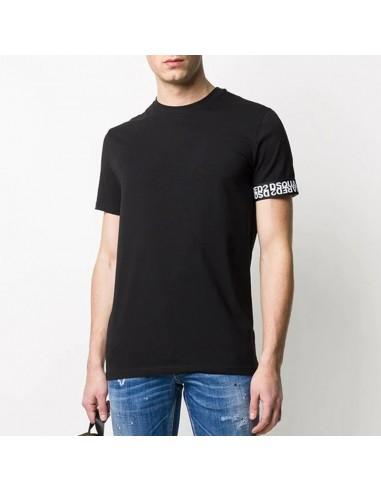 Dsquared2 - T-shirt con logo sulla...