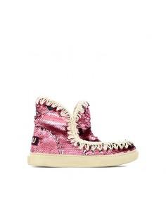 Mou - Summer Sneakers Sequins Kids