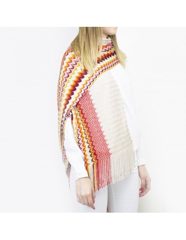Missoni - Scarf with zig zag fantasy