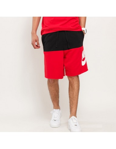 Nike - Bicolor shorts with logo