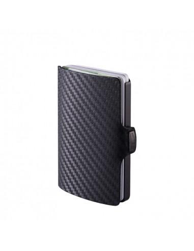 I-Clip - Portafoglio SLIM carbon