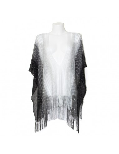 Missoni - Poncho with vertical band...