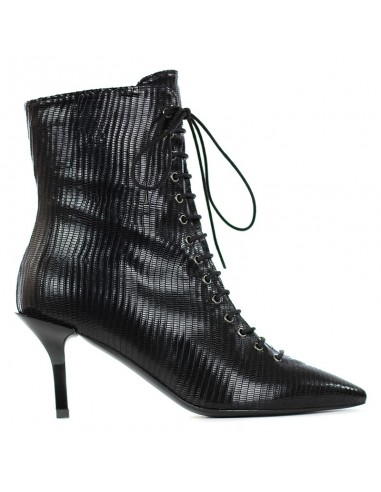 Wo Milano - Ankle boot with lace