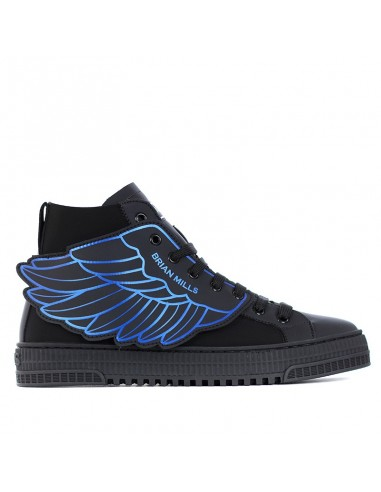 Brian Mills - Mid top sneakers with logo
