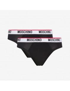 Moschino - Bi-pack slip con logo