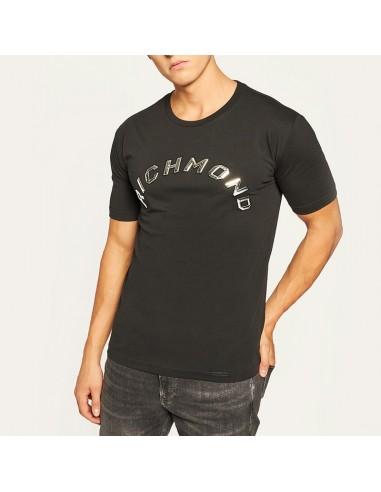 Richmond - T-shirt con patch logo