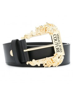 Versace Jeans Couture - Belt baroque buckle Logo