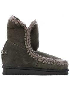 Mou - Ankle boot Eskimo Inner Wedge Short Big Metallic Logo