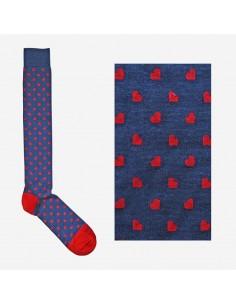 Fefè Glamour - Long socks Cuore