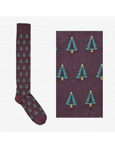 Fefè Glamour - Long socks Albero di Natale