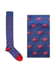 Fefè Glamour - Long socks Bocca