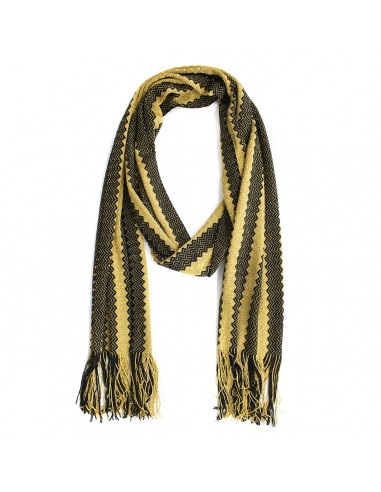 M Missoni - Scarf with zig zag fantasy
