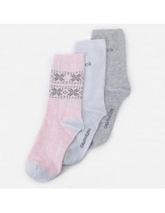Calvin Klein Underwear - Tri-pack socks with logo