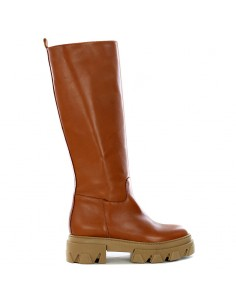 Emozioni - Leather boot with zip