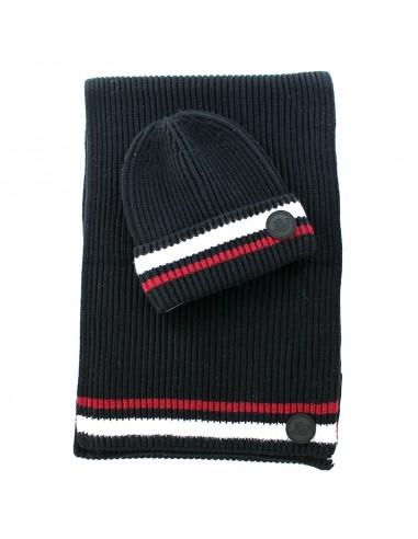 John Richmond - Set beanie and scarf...
